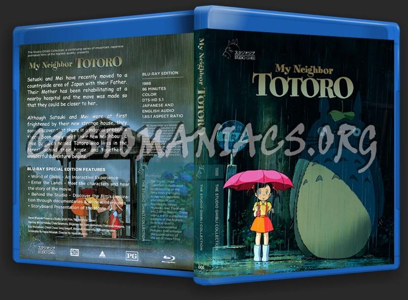 My Neighbor Totoro Blu-ray Cover