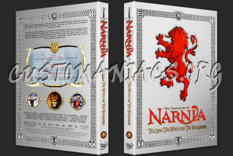 The Chronicles Of Narnia - The Lion, The Witch And The Wardrobe dvd cover