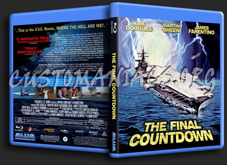 The Final Countdown blu-ray cover