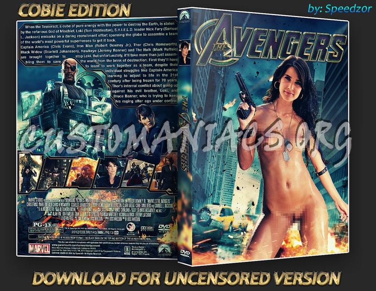 The Avengers dvd cover