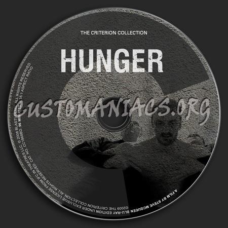 504 - Hunger dvd label