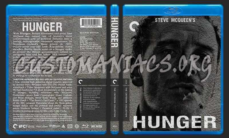 504 - Hunger blu-ray cover