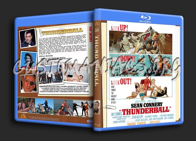 Thunderball blu-ray cover