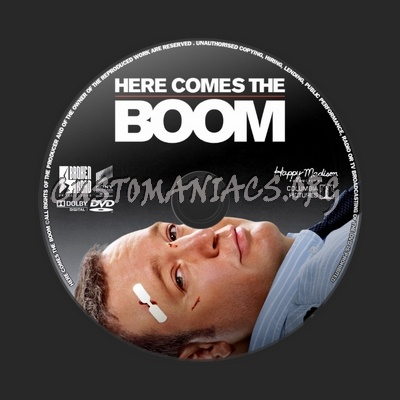 Here Comes the Boom dvd label