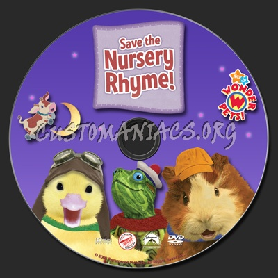 Wonder Pets Save The Nursery Rhyme Dvd Label