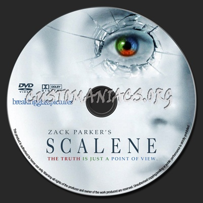 Scalene dvd label