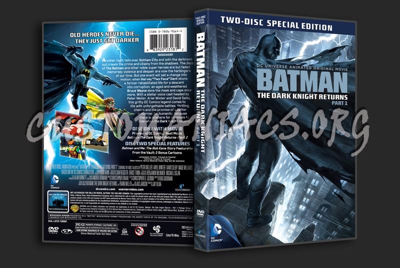 Batman The Dark Knight Returns Part 1 dvd cover