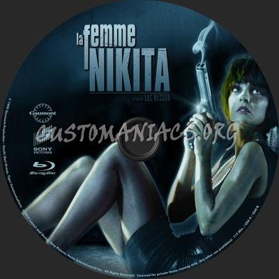 La Femme Nikita blu-ray label