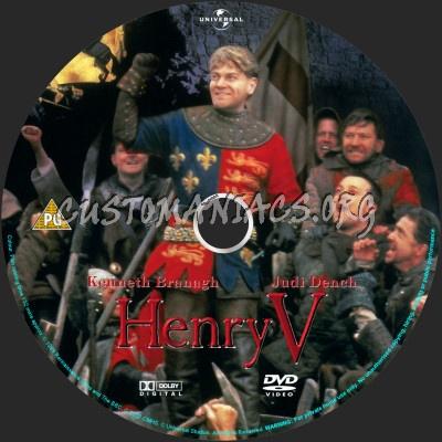 Henry V dvd label
