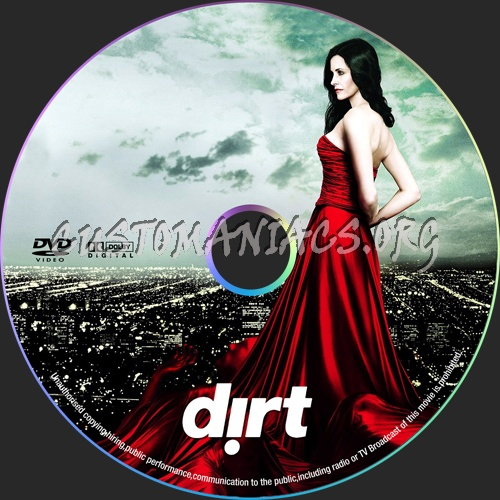 Dirt dvd label