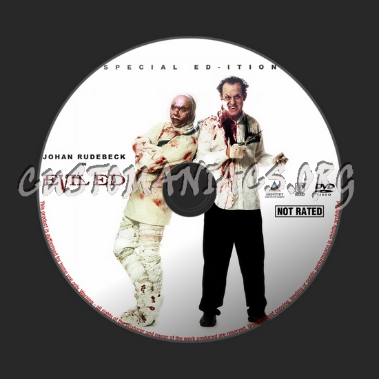Evil Ed dvd label