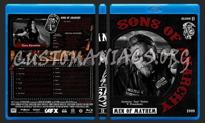 Sons Of Anarchy Complete blu-ray cover