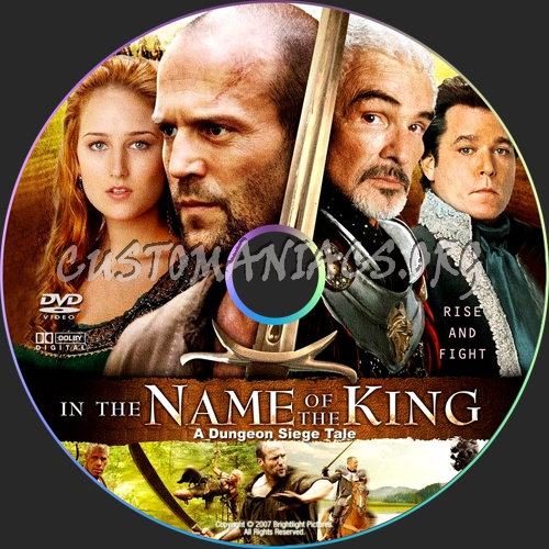 In the Name of the King A Dungeon Siege Tale dvd label