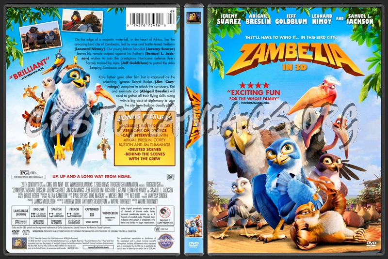 Zambezia dvd cover