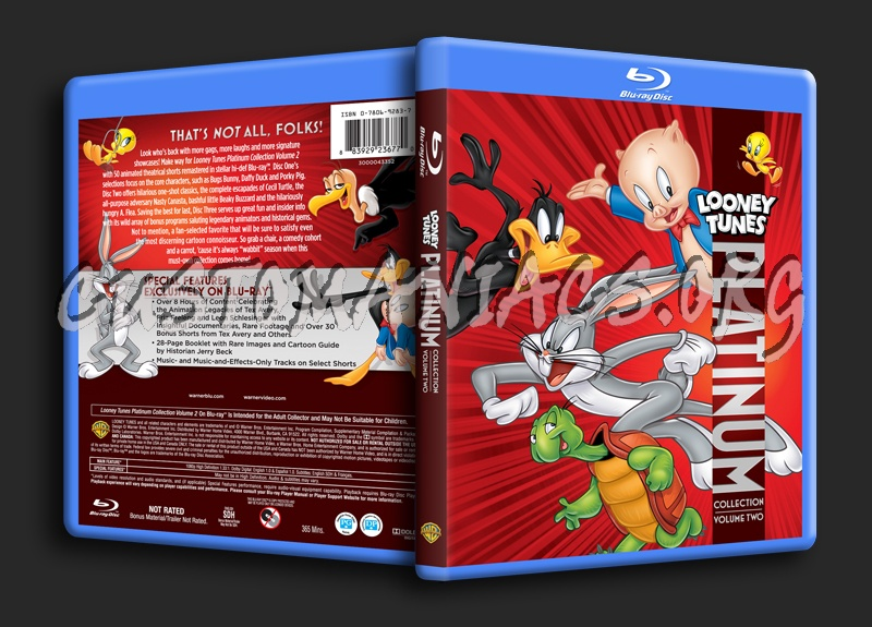 Looney Tunes Platinum Collection Volume 2 blu-ray cover