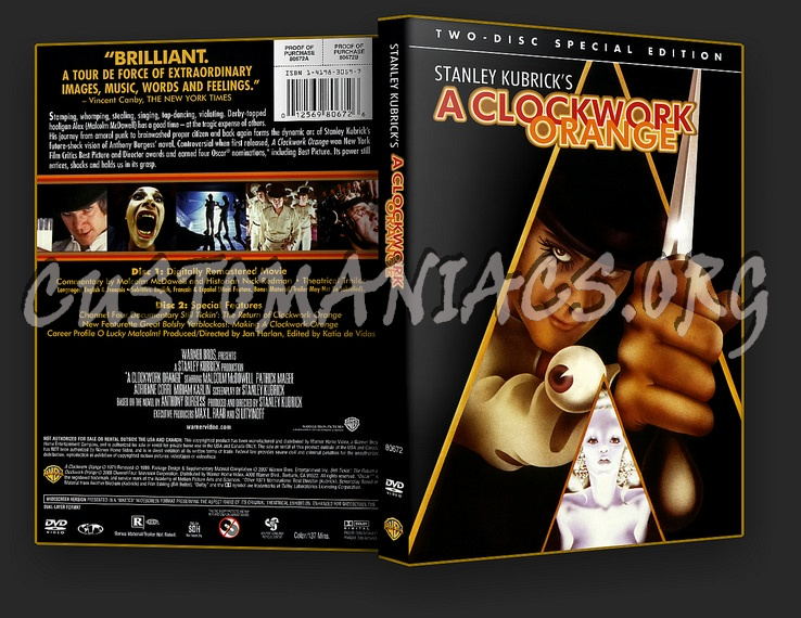 A Clockwork Orange SE dvd cover