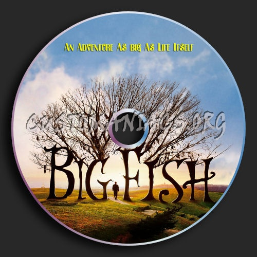 Big Fish dvd label