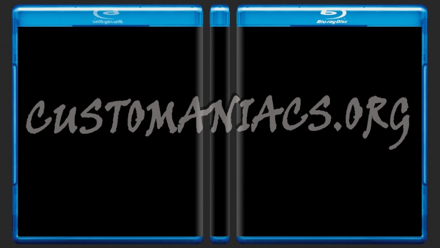 Photoshop Bluray cover preview template 14mm