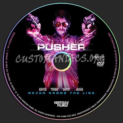 Pusher dvd label