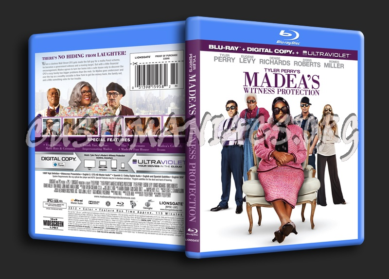 madeas witness protection dvd cover - photo #20