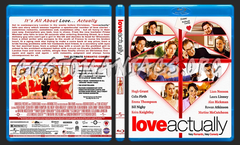 Love Actually blu-ray cover