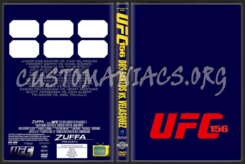 UFC Template dvd label
