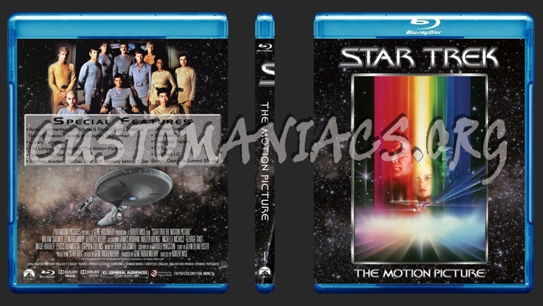 Star Trek Motion Picture Collection blu-ray cover - DVD ... | 780 x 440 jpeg 151kB