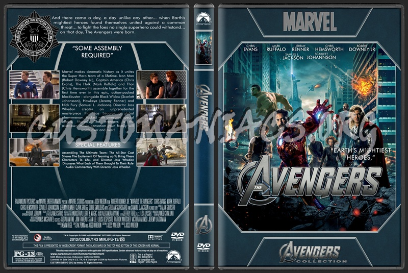 Avengers Collection - Avengers dvd cover
