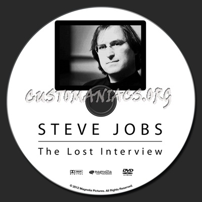 Steve Jobs: The Lost Interview dvd label