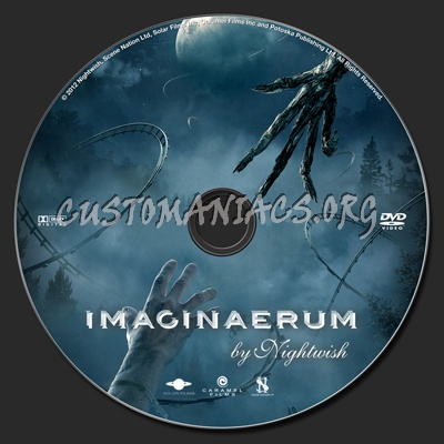 Imaginaerum dvd label