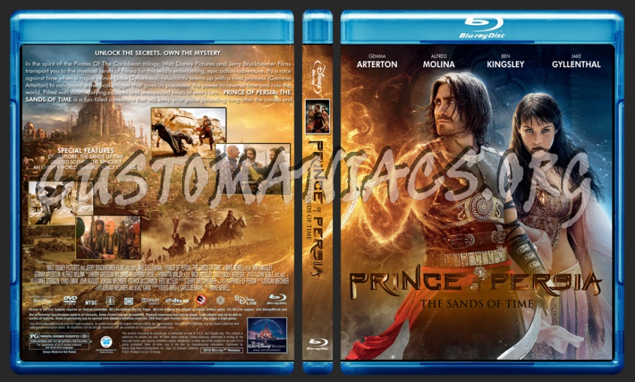Prince Of Persia blu-ray cover