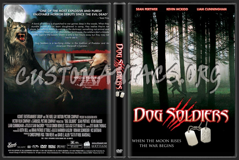 Dog Soldiers dvd cover