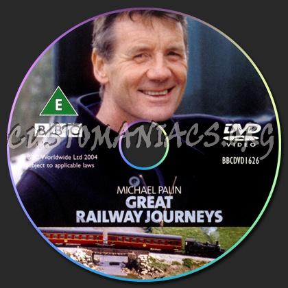 Michael Palin Great Railway Journeys dvd label