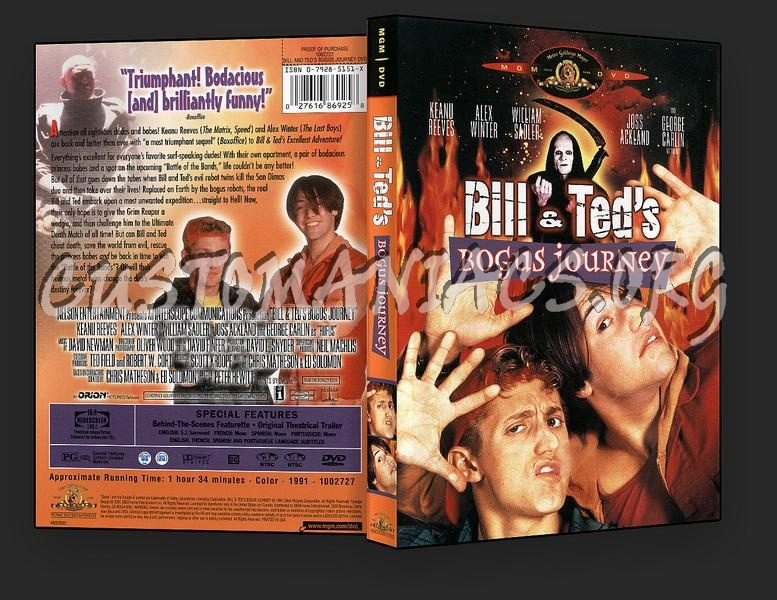 Bill and Ted's Bogus Journey dvd cover