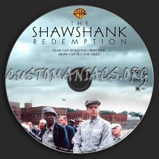 The Shawshank Redemption dvd label