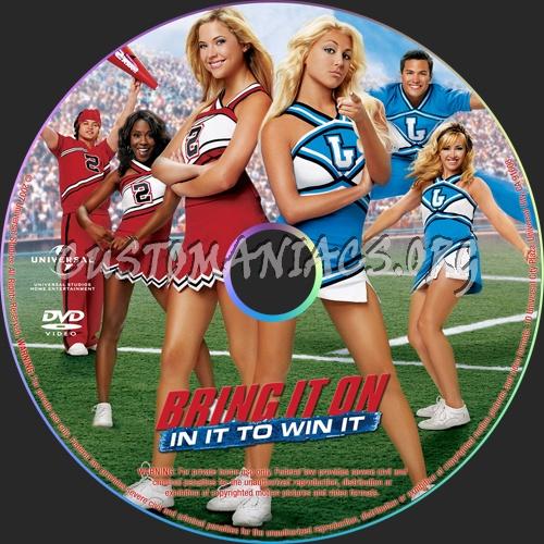 Bring It On In It To Win It dvd label