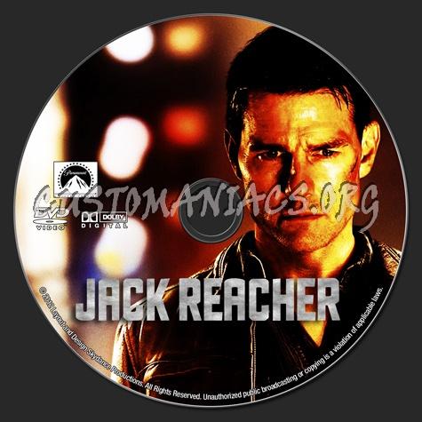 Jack Reacher dvd label