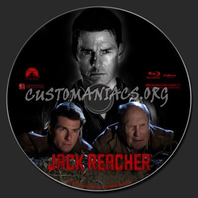 Jack Reacher blu-ray label