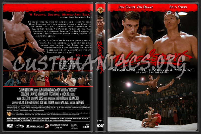 Bloodsport dvd cover