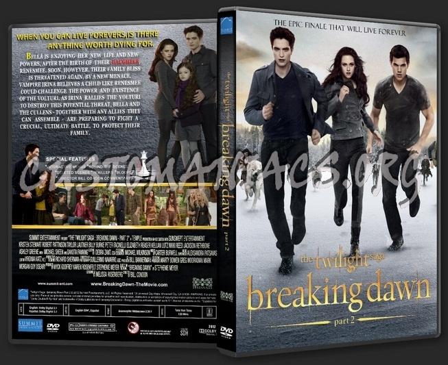 The Twilight Saga: Breaking Dawn - Part 2 dvd cover