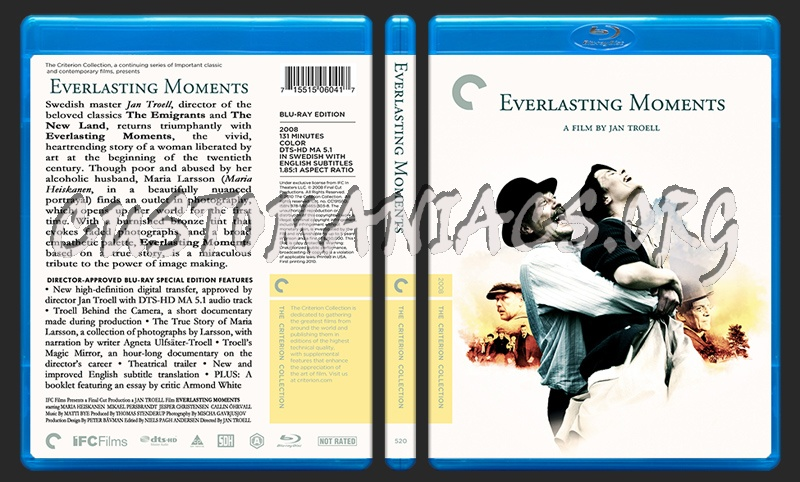 520 - Everlasting Moments blu-ray cover
