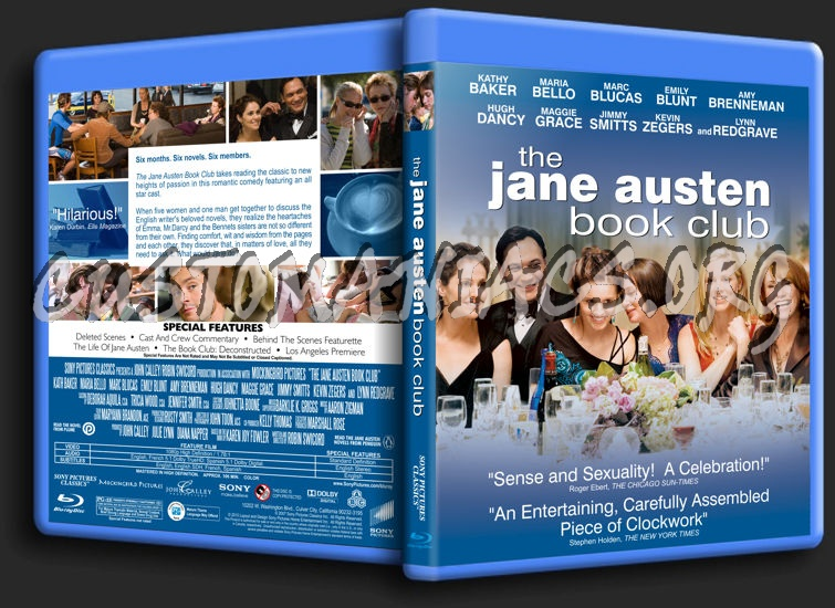 The Jane Austen Book Club blu-ray cover - DVD Covers