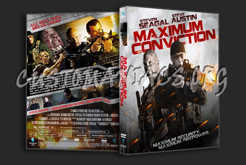 Maximum Conviction dvd cover