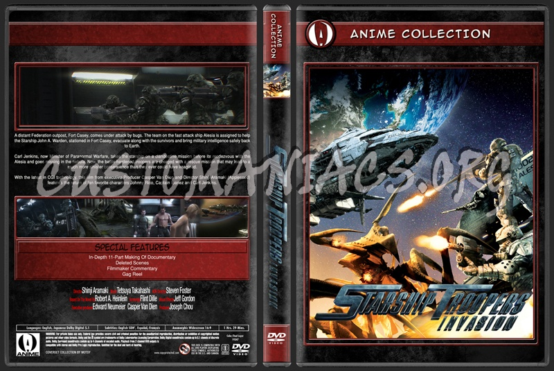 Anime Collection Starship Troopers Invasion dvd cover