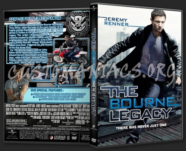 The Bourne Legacy 2012 Dvd Cover Dvd Covers Labels By Customaniacs Id 179025 Free Download Highres Dvd Cover