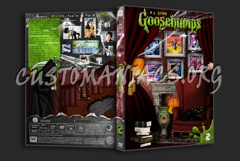 goosebumps volume 2 dvd cover dvd covers amp labels by