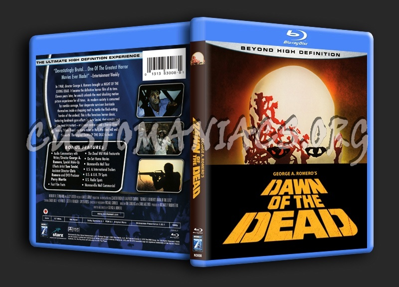 Dawn Of The Dead (1978) blu-ray cover