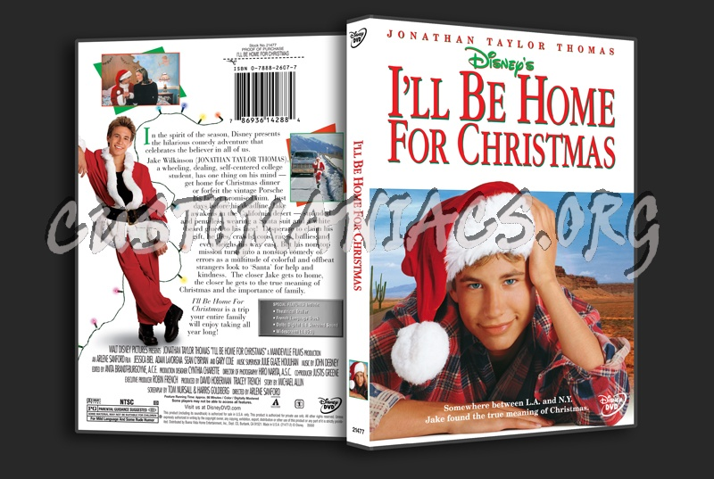ill be home for christmas dvd cover - I Will Be Home For Christmas