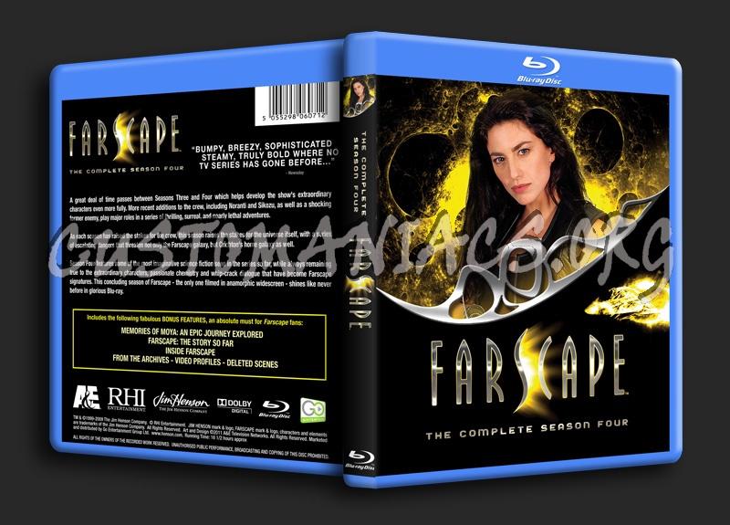 Farscape - Seasons 1, 2, 3 & 4 blu-ray cover
