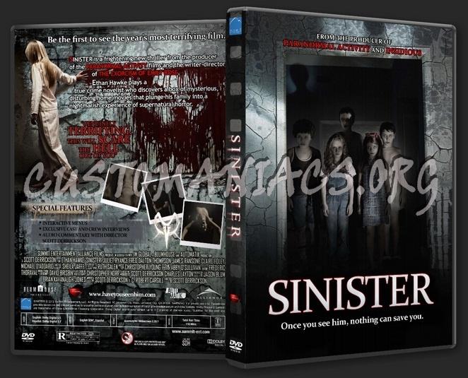 Sinister dvd cover